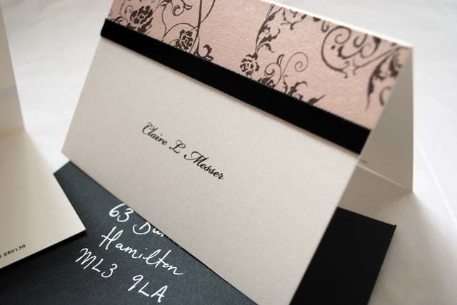 Boudoir Note Cards