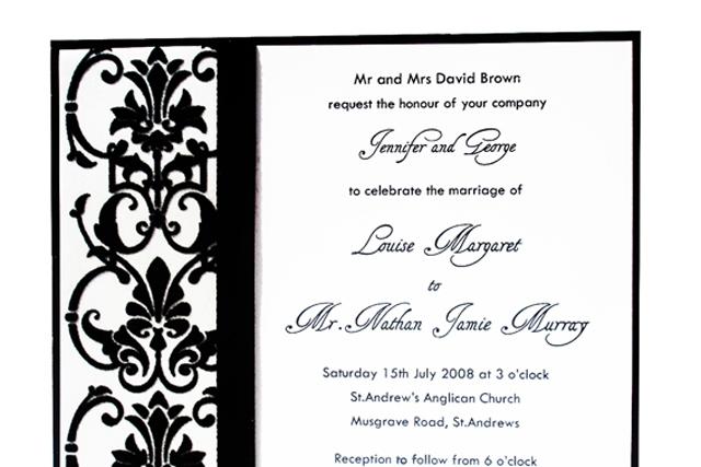 Noir Invitation
