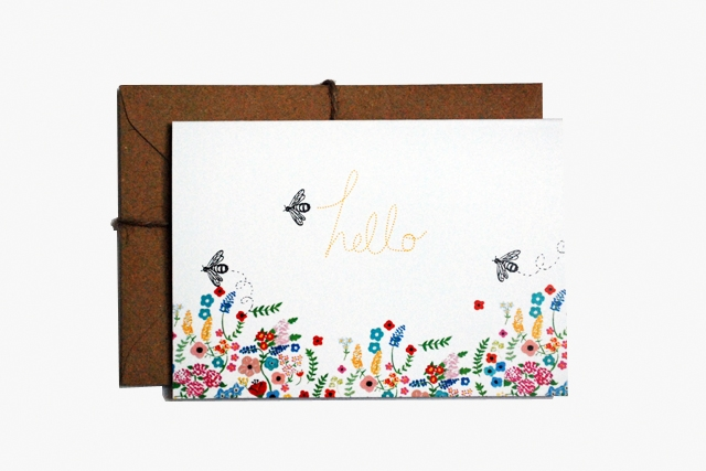 'Wild Meadow' card set