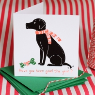 Personalised 'Bobby' Labrador Xmas Cards