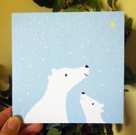 NEW: 'Polar Bear Cub' Christmas Cards