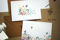 'Bee' assorted card set