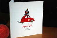 'Driving home for Christmas' cards