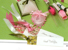 Personalised Pretty Paper Bookmarks from Ten and Sixpence